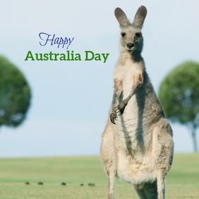 Australia Day Instagram Post template