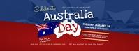 Australia Day Event Facebook Cover Photo Ikhava Yesithombe se-Facebook template