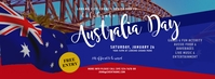 Australia Day Event Facebook Cover Photo Ikhava Yesithombe se-Facebook template