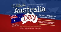 Australia Day Event Facebook Shared Image template