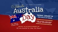 Australia Day Event Twitter Post template