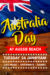 customizable design templates for australia day postermywall