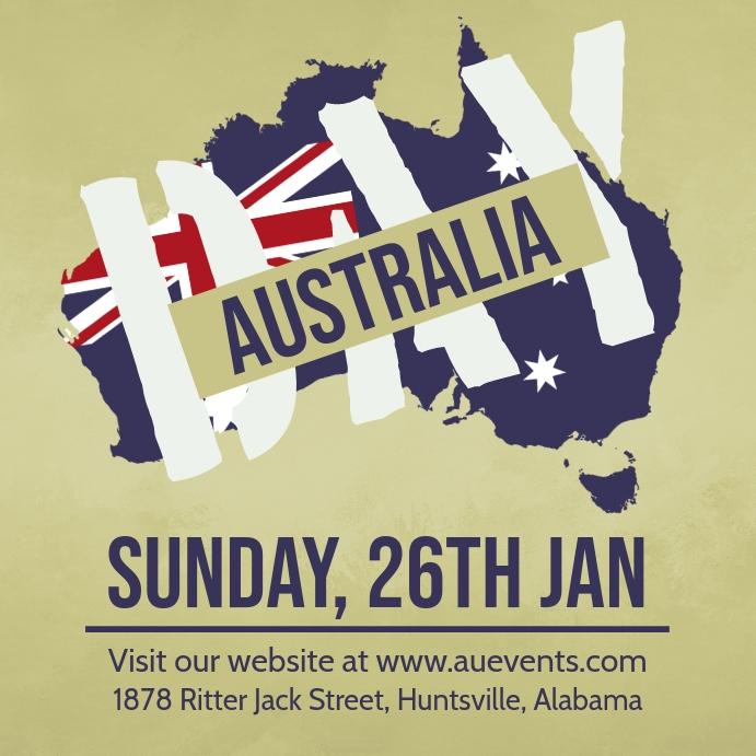 Australia Day Invitation