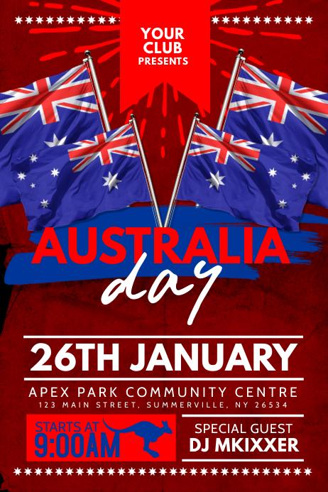 Australia Day Poster