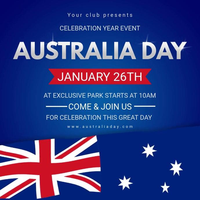 Australia Day Video Event Video Invite