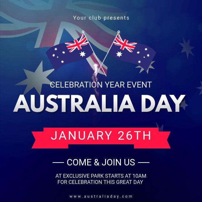 Australia Day Video Invitation