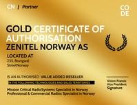 Authorization Certificate Template