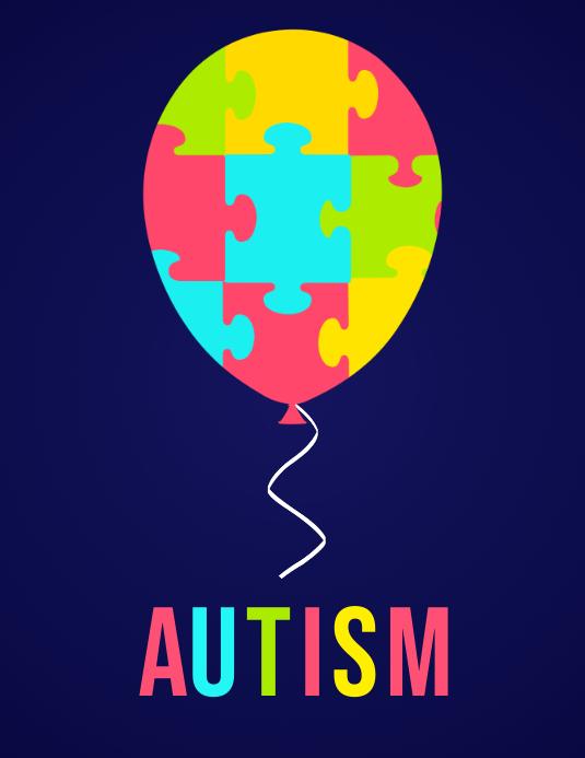 Autism Awareness, Autism, autism flyer