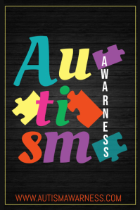 Autism flyers,Campaign posters,Health posters
