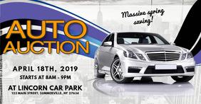Auto Auction Flyer