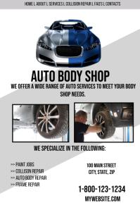 Auto Body Template