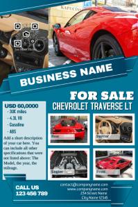 Better Auto Dealer Flyer Template  Car Sale Flyer