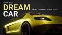 Auto Dealership Facebook Video template