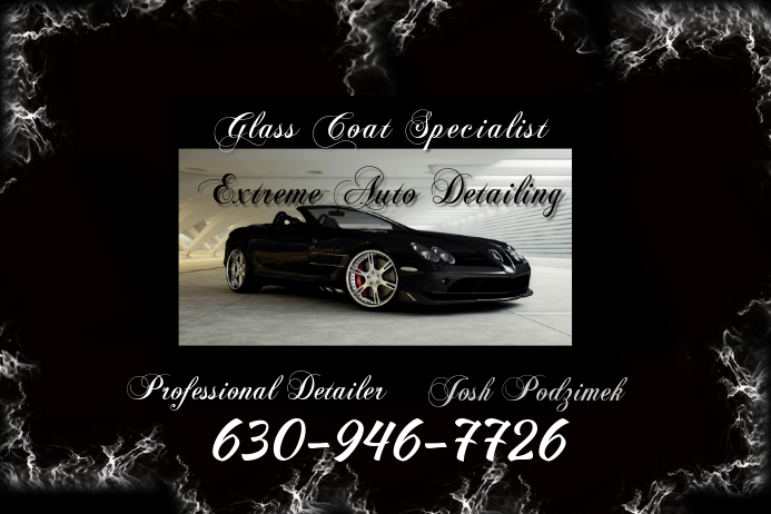 Auto Detailing Flyer Template Postermywall