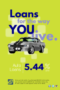 Auto Loans Poster