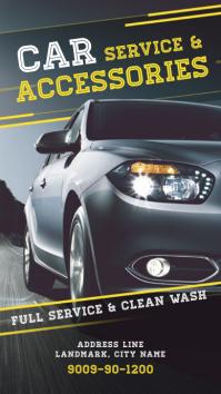 Auto Mobile Parts/Services Poster