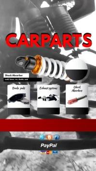 Auto Parts Sale Video Template