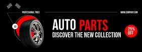 Auto Parts Store Facebook Cover template