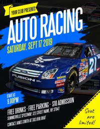 Auto Racing Flyer
