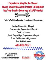 Auto Repair Experience not cheap
