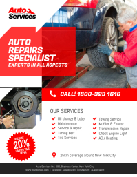 380 customizable design templates for auto repair postermywall