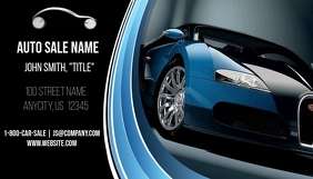 Auto Sale Business Card