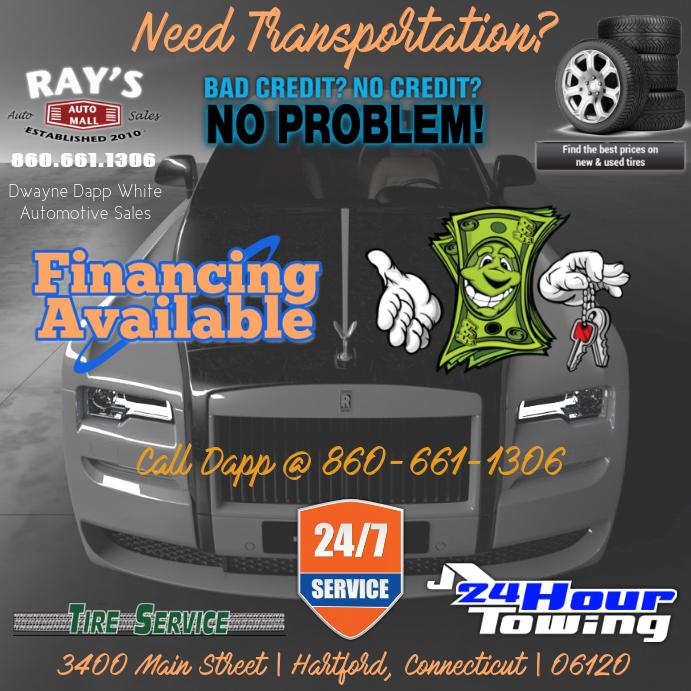 No Credit Auto Sales >> Auto Sales Templat Postermywall