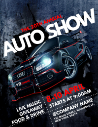 Customizable Design Templates For Car Show Event PosterMyWall - Car show flyer template