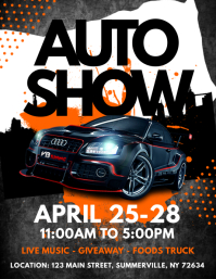 Customizable Design Templates For Car Show PosterMyWall - Blank car show flyer