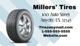 Auto Tire Business Card
