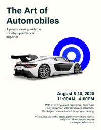 Automobile Business Flyer