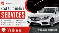 Automotive Services Facebook Cover Video Facebook-omslagvideo (16:9) template