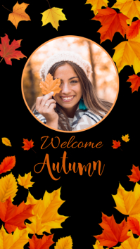 Autumn, autumn festival,event,Thanksgiving Instagram Story template
