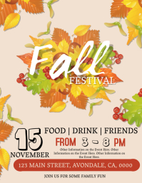 Autumn \ Fall Festival Event Flyer Template