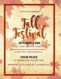 Autumn \ Fall Festival Video Flyer Template