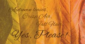 autumn air Facebook 共享图片 template