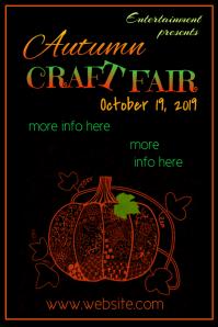 Autumn Craft Fair Poster
