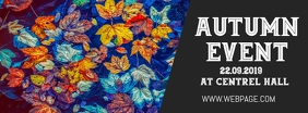 Autumn event facebook cover template