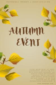 Autumn Event Flyer Template