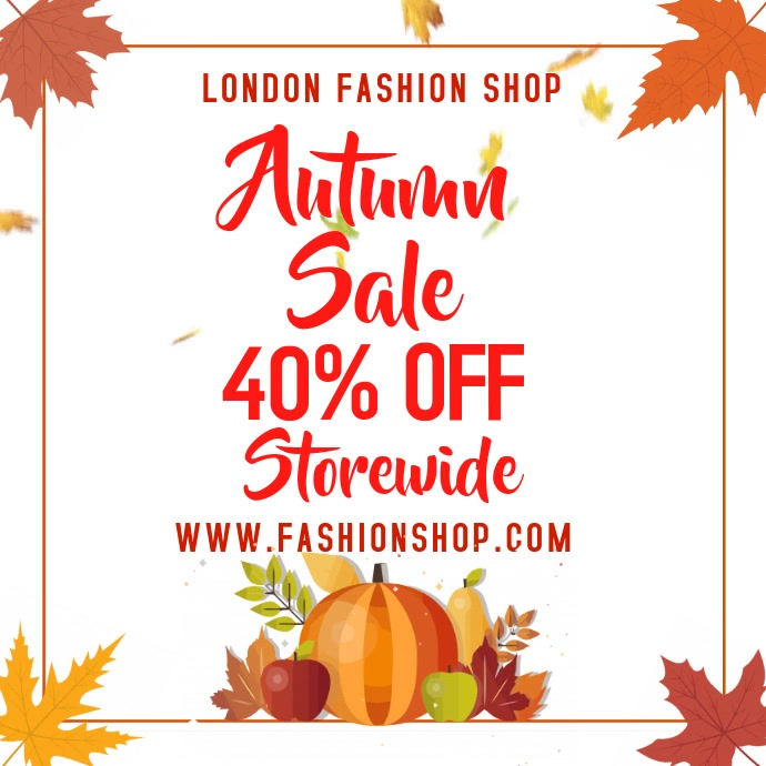 Autumn Event Video Promo