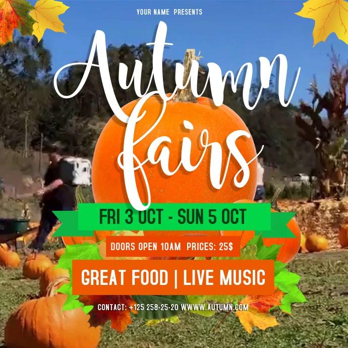 Autumn Fair Instagram Video