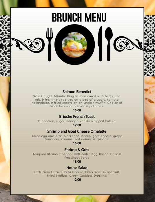 autumn fall brunch restaurant menu specials