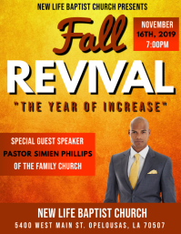 AUTUMN FALL CHURCH REVIVAL