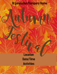 Autumn/Fall Flyer