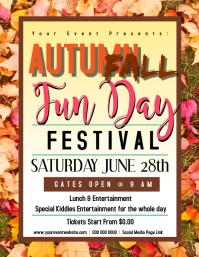 AUTUMN FALL fun day Flyer