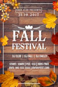 Autumn Fall October Festival Leaves Bonfire Season Retail