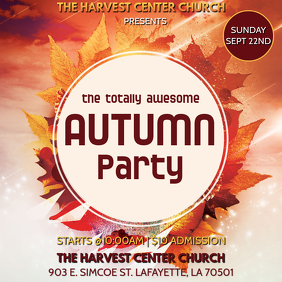 AUTUMN FALL PARTY