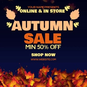 AUTUMN FALL SALE AD SOCIAL MEDIA TEMPLATE Logo