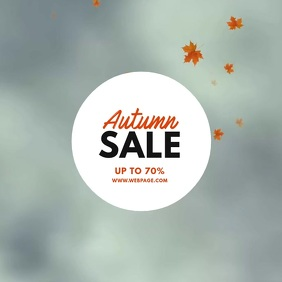 autumn fall Sale Video Template