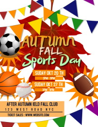 AUTUMN FALL SPORTS DAY